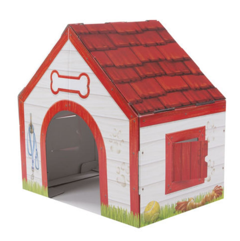 Melissa & Doug Melissa & Doug Doghouse Plush Playset (Cardboard)