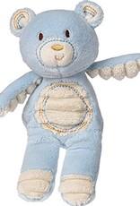 Thready Teddy Plush Rattle-Blue