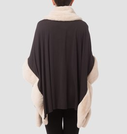Joseph Ribkoff Faux Fur Top