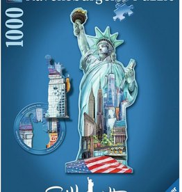 Ravensburger Statue Of Liberty - Silhouette