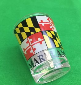 MD Flag Shotglass