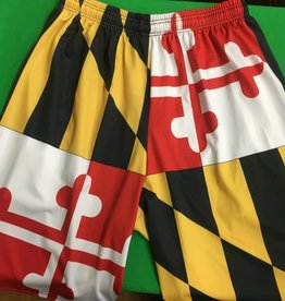 MD Flag Shorts W/ Pockets