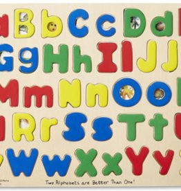 Melissa & Doug Upper & Lower Case Alphabet