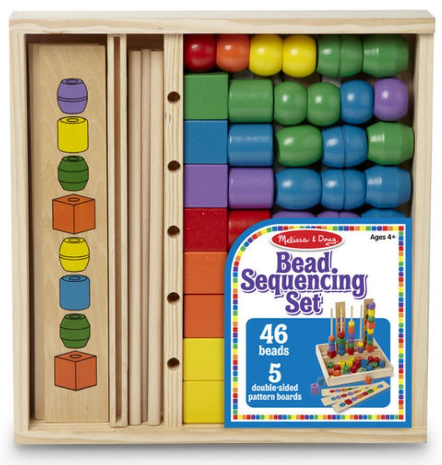 ee26c9c2800f Melissa & Doug Bead Sequencing Set - Josephs Department Store