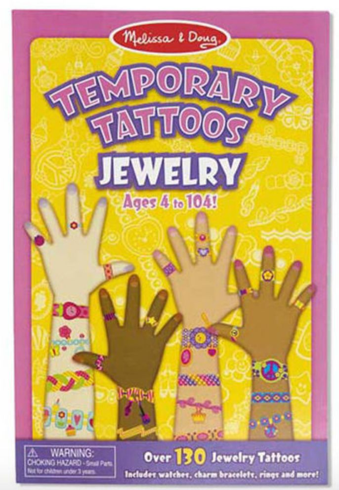 Melissa & Doug Temorary Tattoos - Jewelry