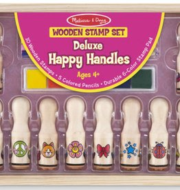 a419b5a14009 Melissa & Doug Deluxe Happy Handle Stamp Set