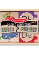 Melissa & Doug Self Correcting Letter Puzzles