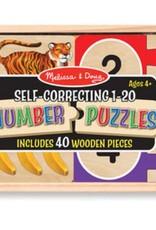 Melissa & Doug Self Correcting Number Puzzles