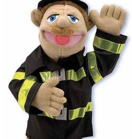 Melissa & Doug Fire Fighter Puppet