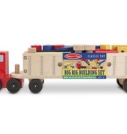 Melissa & Doug Big Rig Building Set (Classic Toy)