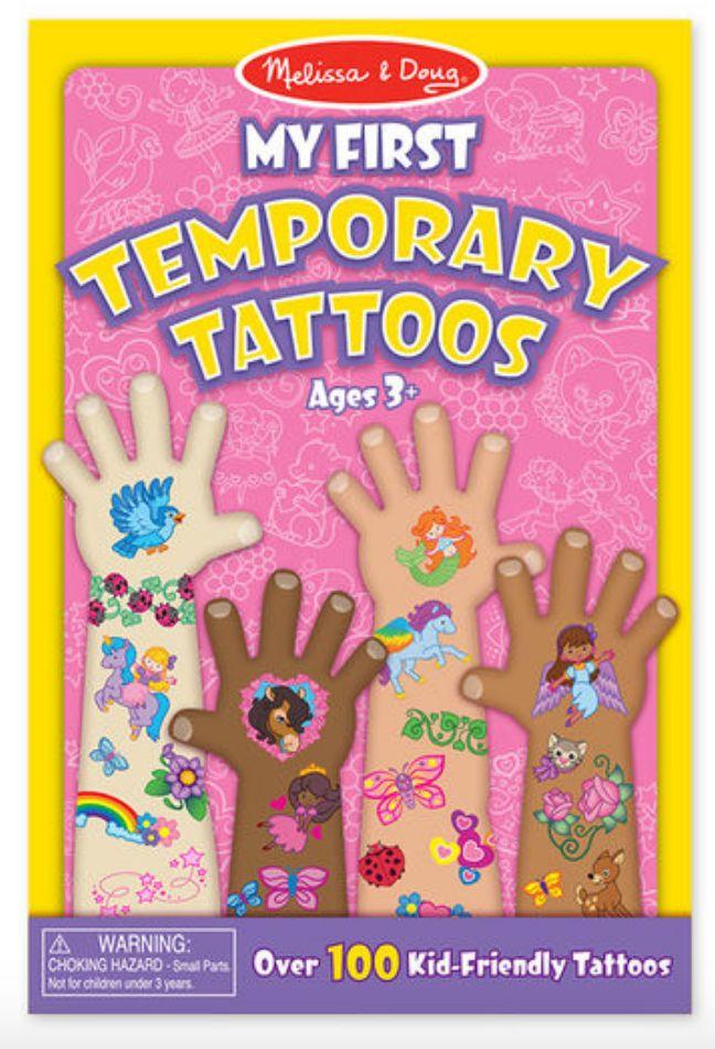 Melissa & Doug My First Temporary Tattoos - Pink Set