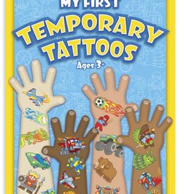 Melissa & Doug My First Temporary Tattoos -  Blue Set