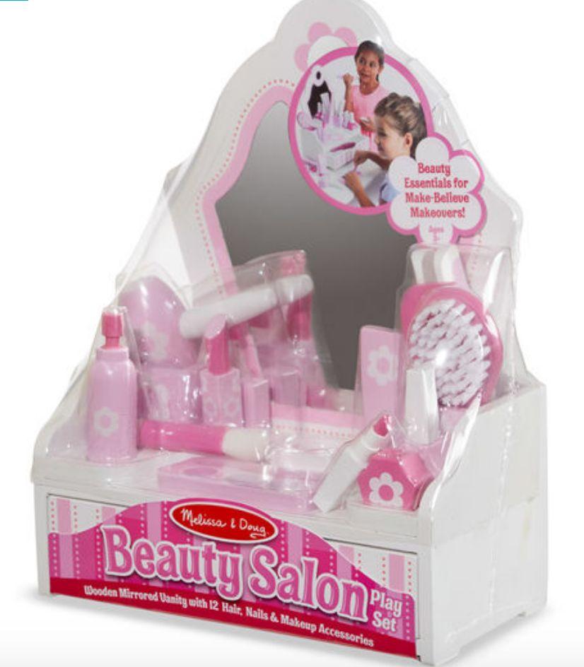Melissa Doug Beauty Salon Vanity Play Set Josephs Department Store