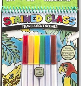 Melissa & Doug On the Go - Stained Glass - Animals