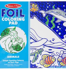 Melissa & Doug Foil Coloring Pad - Animals