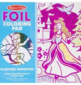Melissa & Doug Foil Coloring Pad - Playtime Favorites