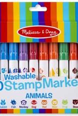 Melissa & Doug 10 Stamp Markers - Animals