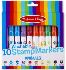 e9f4e786af6f Melissa & Doug 10 Stamp Markers - Animals