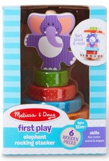Melissa & Doug Elephant Rocking Stacker
