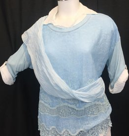 Made In Italy 3pc Long Slv Top 21/7241I