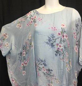 Made In Italy Made In Italy Woven Shrt Slv Tunic 20/1689I