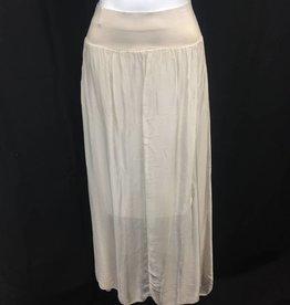 Made In Italy Woven Skirt 18/9838I