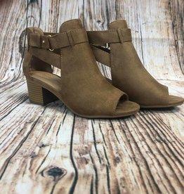 Side Cutout Heel Booties