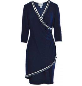 Joseph Ribkoff Ladies Dress, Navy, 20