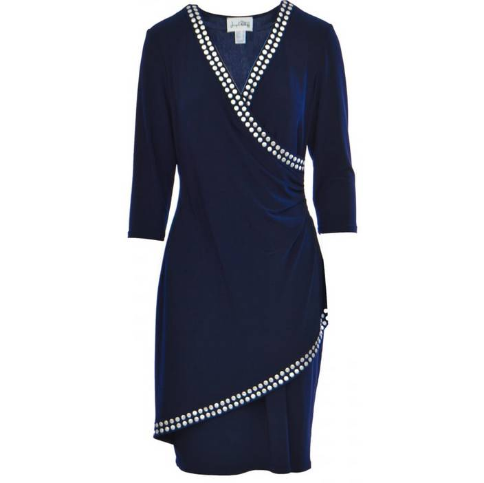 Joseph Ribkoff Ladies Dress, Navy, 20