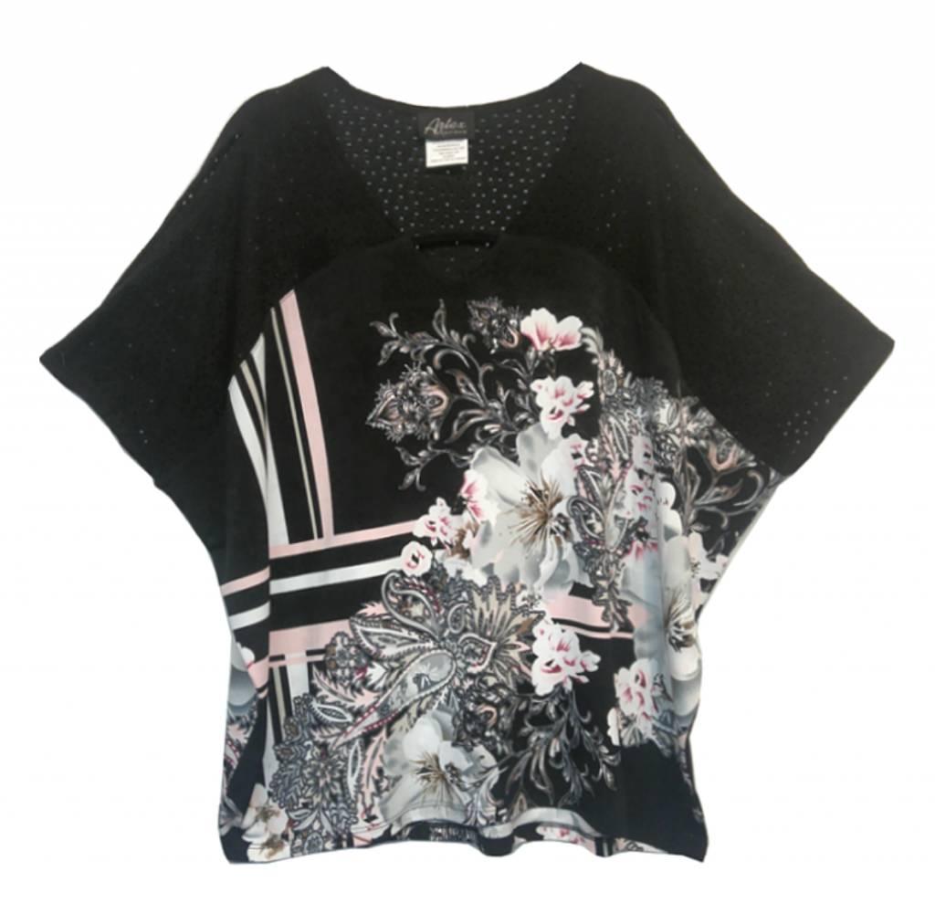 Artex Fashions Printed Top 183-7207