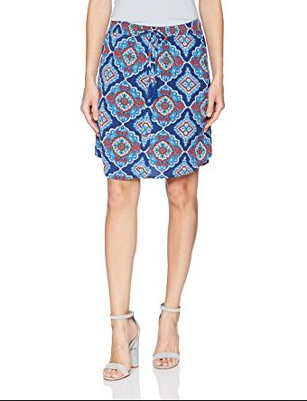 TRIBAL Pull On Skirt w/Tassel 24470-229