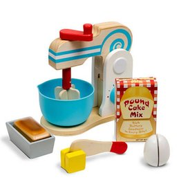 Melissa & Doug MAKE A CAKE MIXER WOODEN SET