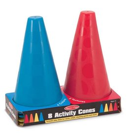 Melissa & Doug 8 ACTIVITY TRAFFIC CONES