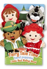 Melissa & Doug FAIRY TALE TIME HAND PUPPETS - LITTLE RED RIDING HOOD