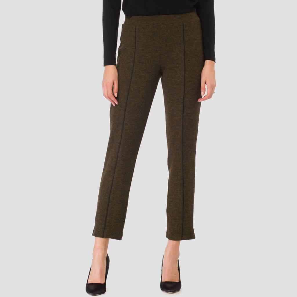 Ladies Pants, Olive/Black