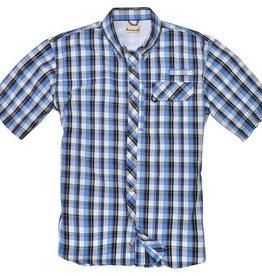Backpacker Sport Utility Shirt, Teal Plaid