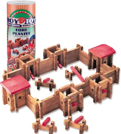Roy Toy Manufacturing Fort Canister