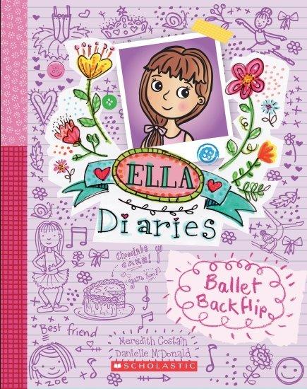 Ella Diaries Ballet Backflip