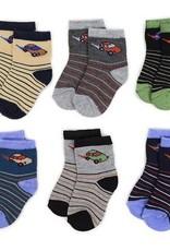 LA Showroom Infant Boys Striped Pattern Socks