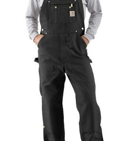 Carhartt Duck Zip-to-Thigh Bib Overall - Unlined