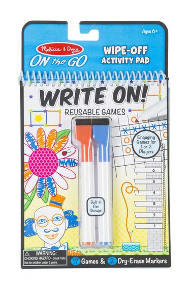 Melissa & Doug Write On! Reusable Games