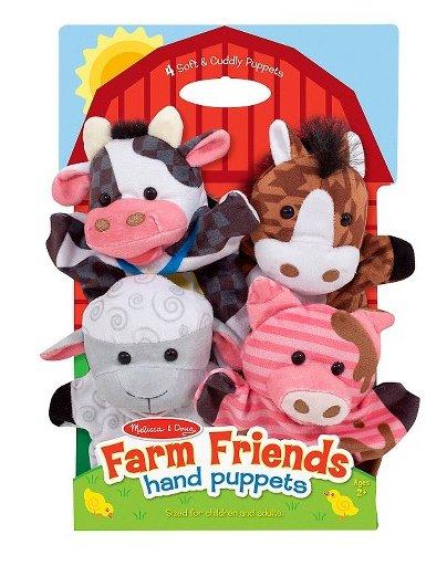 Melissa & Doug Hand Puppets-FARM