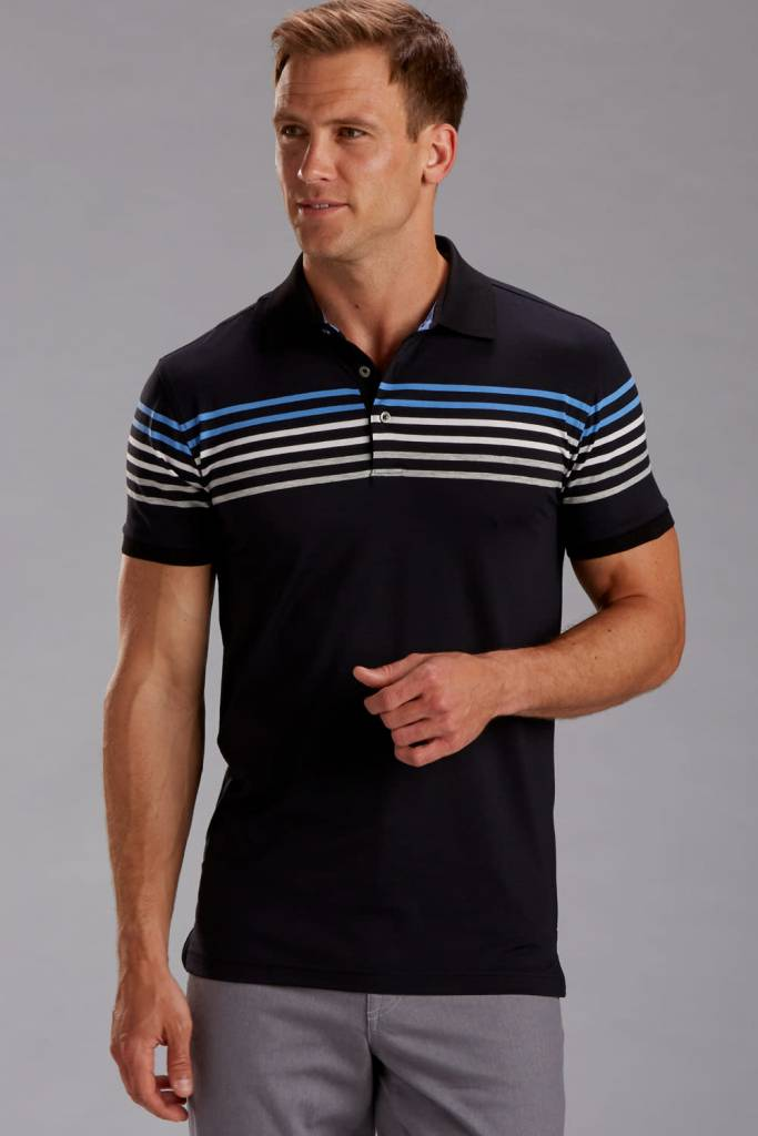 Performance Blend Chest Stripe Shirt