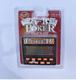 Classic 5-In-1 Poker 77701