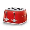 SMEG SMEG 4x4 Slot Toaster - Red
