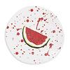 Vietri Vietri Melamine Fruit Watermelon Dinner Plate