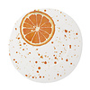 Vietri Vietri Melamine Fruit Orange Dinner Plate