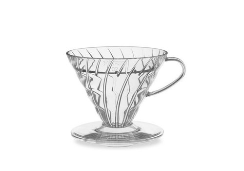 Hario V60 Coffee Drip Cone - Clear Glass
