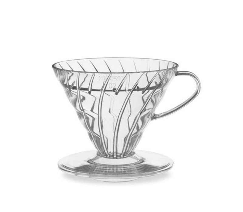 Hario V60 Coffee Drip Cone - Clear Glass