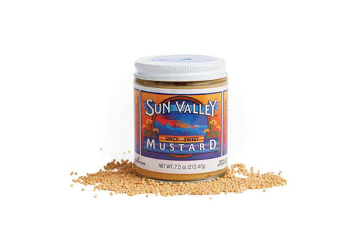 Sun Valley Mustard 7.5oz Jar Spicy Sweet